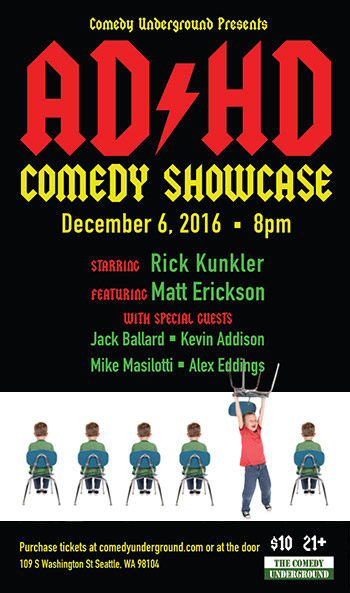 AD-HD Comedy Showcase