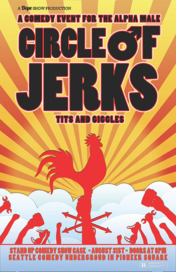 CIRCLE OF JERKS with MITCH BURROW