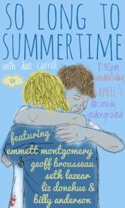 Dan Carroll - So Long to Summertime