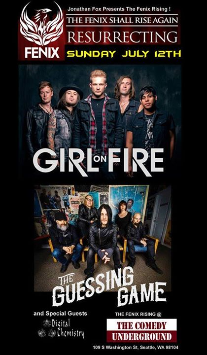 fenix rising: girl on fire - guessing game - digital chemistry
