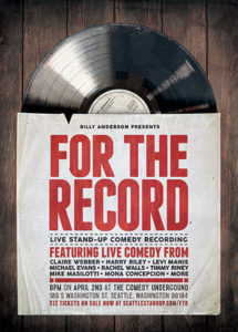 For the Record - Billy Anderson