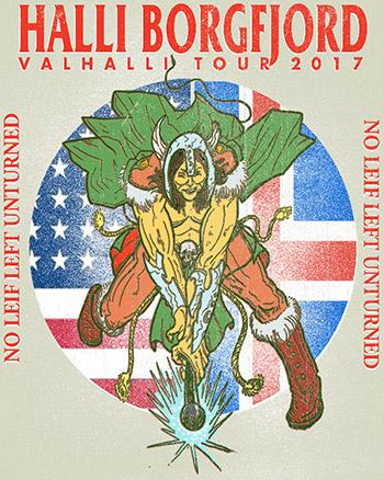 Halli Borgfjord - Valhalli Tour 2017