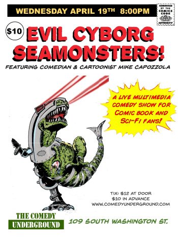 EVIL CYBORG SEA MONSTERS - MIKE CAPOZZOLA