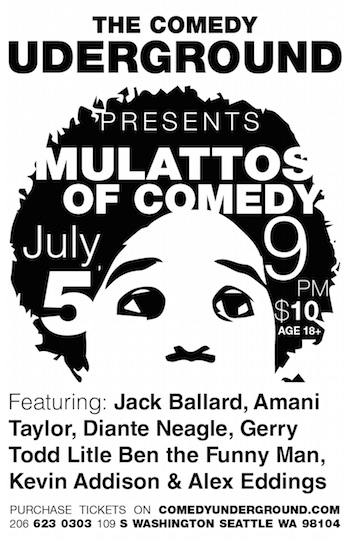 mulattos of comedy