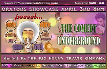Orators Showcase - April 3