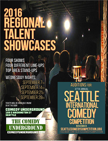 Regional Talent Showcase - Comedy Competition - 2016