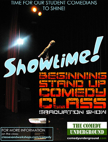 Showtime! Beginning Stand up Comedy Class