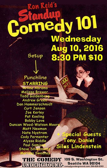 STAND-UP COMEDY 101 SHOWCASE