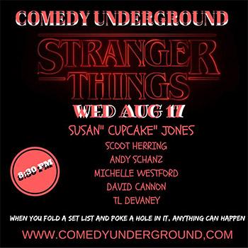 stranger things - august - 17