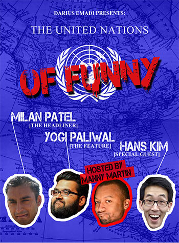The United Nations of Funny
