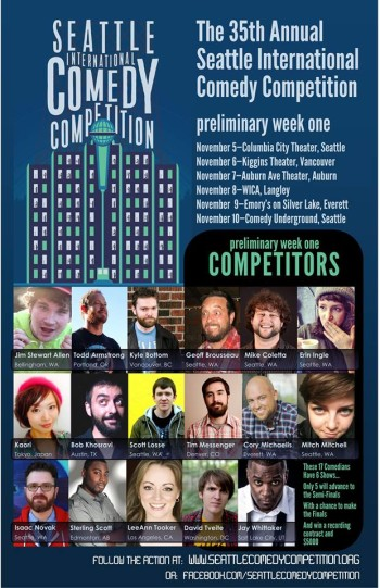 Seattle International Comedy Competition Week-1 poster